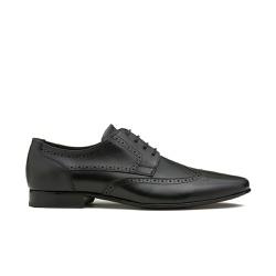 Sapato Social Masculino RUSSELL Preto - Factum Shoes