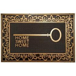 TAPETE CAPACHO 40X60CM IRON HOME SWEET HOME - Fechacom