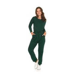 Conjunto Canelado Verde Bandeira - 40395 - Feronia
