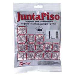 ESPACADOR DE PISO 1,0 MM PORCELANATO SACO COM 100... - Ferragem Igor