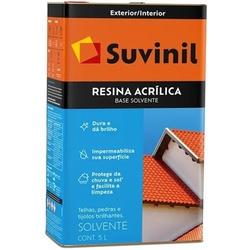 RESINA ACRILICA BASE SOLVENTE 18LITROS SUVINIL - 0... - Ferragem Igor