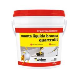 MANTA LIQUIDA BRANCO 18KG QUARTZOLIT - 02531 - Ferragem Igor