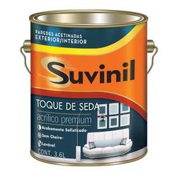 TOQUE DE SEDA SUVINIL BRANCO 3,6LITROS - 03117 - Ferragem Igor