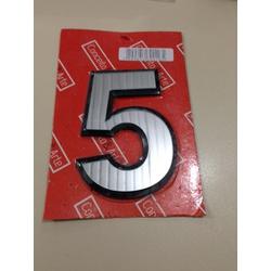NUMERO N5 RESIDENCIAL ACRILICO ESPELHADO - 05166 - Ferragem Igor
