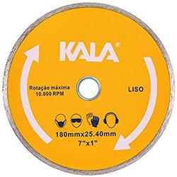 DISCO CORTE DIAMANTADO LISO KALA - 06575 - Ferragem Igor