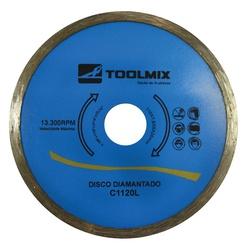 DISCO CORTE DIAMANTADO CONTINUO C1120L TOOLMIX - 0... - Ferragem Igor