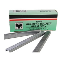 GRAMPO PARA GRAMPEADOR ROCAMA 106/6 MM - 07546 - Ferragem Igor