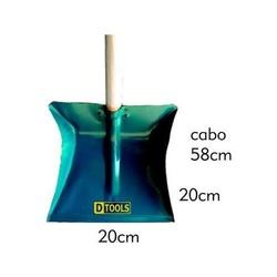 PA DE LIXO METAL COM CABO - 02658 - Ferragem Igor