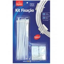 KIT FIXACAO BRANCO-ABRAC+FIXADOR -3,7X151 VOCE RES... - Ferragem Igor