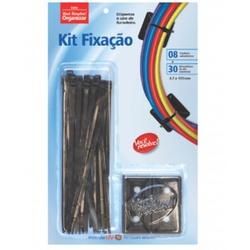 KIT FIXACAO PRETO-ABRAC+FIXADOR -3,7X151 VOCE RESO... - Ferragem Igor
