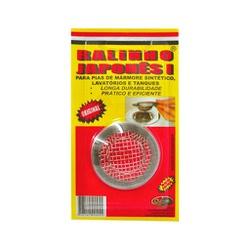 RALINHO JAPONES INOX PEQUENO LAVATORIO - 07433 - Ferragem Igor