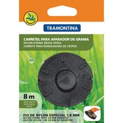 CARRETEL P/ APARADOR DE GRAMA 1 FIO 1,8MM 8 METROS... - Ferragem Igor