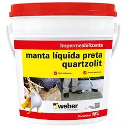 MANTA LIQUIDA PRETO 18KG QUARTZOLIT - 02530 - Ferragem Igor