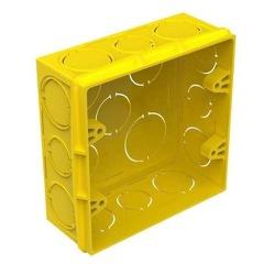 Caixa De Luz 4x4 Amarela Tigre - FERRAGENS & BAZAR