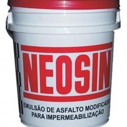 Neosin Impermeabilizante 18 Litros Preto - FERRAGENS & BAZAR