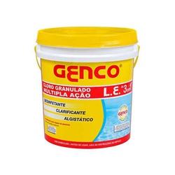 Cloro Multi Ação 3 x 1 Genco Balde 2,5 Kg - FERRAGENS & BAZAR