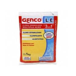Cloro Multi Ação 3 x 1 Genco Saco 1 Kg - FERRAGENS & BAZAR