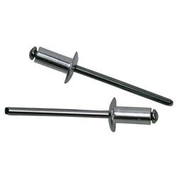 Rebite Em Alumínio 1/8 X 12mm 100 Peças - FERRAGENS & BAZAR