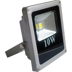 Refletor Holofote Led 10w Branco Frio Bivolt - FERRAGENS & BAZAR