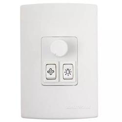 Controle de Ventilador Lampada + Velocidade Rotativo Qv37