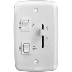 Controle Para Ventilador De Teto 4x2 Para 1 Lâmp Deslizante