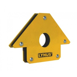 Esquadro Magnético para Soldador 25kg EML-25 Lynus... - FERTEK FERRAMENTAS