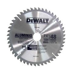Disco de serra circular 185 x 25 para alumínio / m... - FERTEK FERRAMENTAS