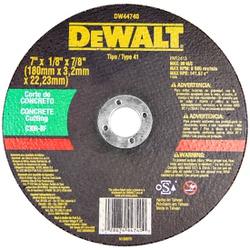 Disco de Corte para Concreto DW44740 - Dewalt - 52 - FERTEK FERRAMENTAS