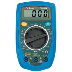 Multimetro Digital ET-1400 MInipa ET-1400 - 2964 - FERTEK FERRAMENTAS