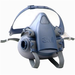 Máscara Semi Facial 7500 3M - 215 - FERTEK FERRAMENTAS