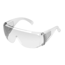 Óculos de Segurança Sobrepor Incolor Protector - ... - FERTEK FERRAMENTAS