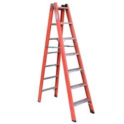 Escada Tesoura Fibra de Vidro 1,50m 5 degraus W Be... - FERTEK FERRAMENTAS
