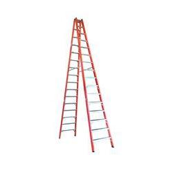 Escada Tesoura Fibra de Vidro 5,10m 17 degraus Wbe... - FERTEK FERRAMENTAS