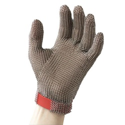 Luva de Aço Inox 5 Dedos T-G - 2788 - FERTEK FERRAMENTAS