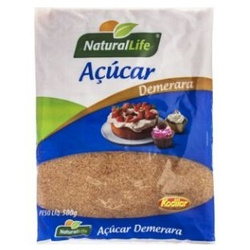 Açúcar Demerara 500g - 15964 - Fitoflora Produtos Naturais