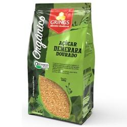 Açúcar Demerara Dourado Orgânico 500g - 16716 - Fitoflora Produtos Naturais