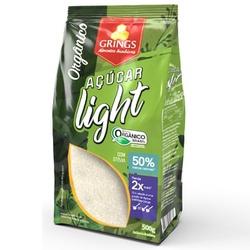 Açúcar Light Orgânico com Stévia 500g - 16718 - Fitoflora Produtos Naturais