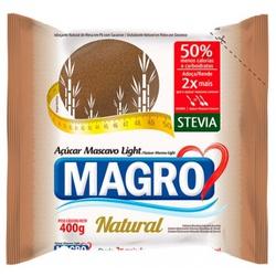 Açúcar Mascavo Light Natural com Stévia 400g - 148... - Fitoflora Produtos Naturais