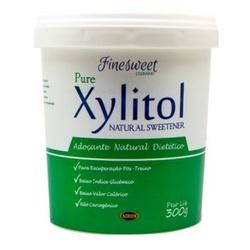 Pure Xylitol Adoçante Natural Dietético 300g - 148... - Fitoflora Produtos Naturais