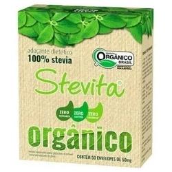 Adoçante Orgânico Sachê 50x50mg - 15599 - Fitoflora Produtos Naturais