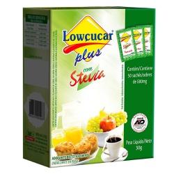 Adoçante Plus com Stévia 50 sachês x 0,6g - 11534... - Fitoflora Produtos Naturais