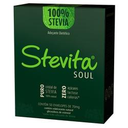 Adoçante Stevita Soul 50 envelopes x 70mg - 13910 - Fitoflora Produtos Naturais