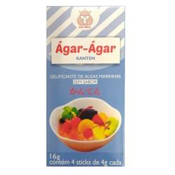 Agar-agar Pó 16g (4 sachês) - 12971 - Fitoflora Produtos Naturais