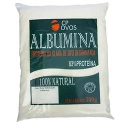 Albumina Clara Pasteurizada 500g - 17464 - Fitoflora Produtos Naturais