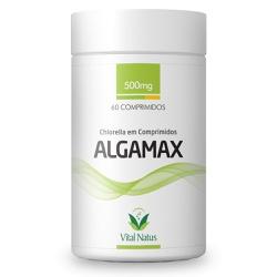 Algamax 60comp x 500mg - 11975 - Fitoflora Produtos Naturais