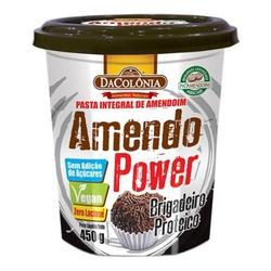 Amendo Power Pasta de Amendoim Brigadeiro Veg 450g... - Fitoflora Produtos Naturais
