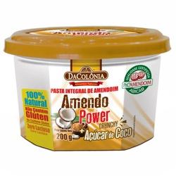 Amendo Power Integral com Açúcar de Coco 200g - 16... - Fitoflora Produtos Naturais