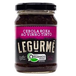Antepasto Cebola Roxa ao Vinho Tinto Orgânico 165g... - Fitoflora Produtos Naturais