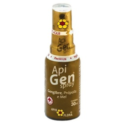 Apigen Spray Própolis, Mel e Gengibre 30ml - 4139 - Fitoflora Produtos Naturais