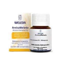Arnica D3 80 comprimidos - 1921 - Fitoflora Produtos Naturais